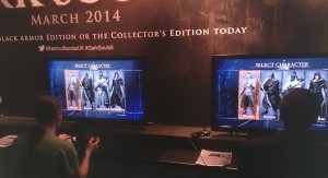 """""""Character selection; this is as passive as Dark Souls 2 get's."""""""