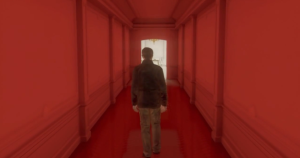 """This seemingly elongating corridor was symbolic of the extensive, tortuous journey you undertook."""