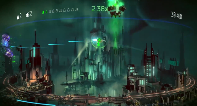 """Resogun; I salute you."""