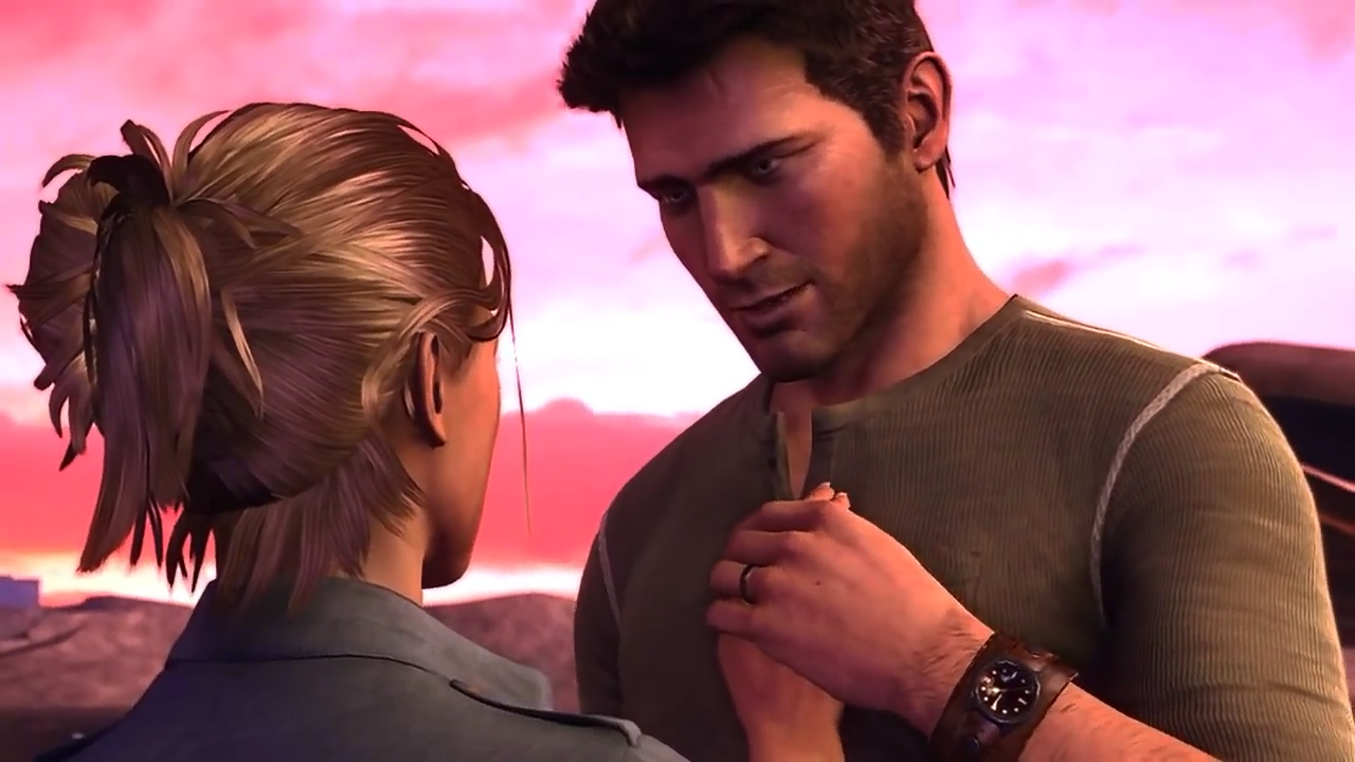 Nathan Drake And Elena Fisher The Ross And Rachel Of Gaming